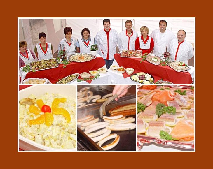 Partyservice Bösl Berchtesgaden Bad Reichenhall Rosenheim Chiemsee Catering Hochzeit