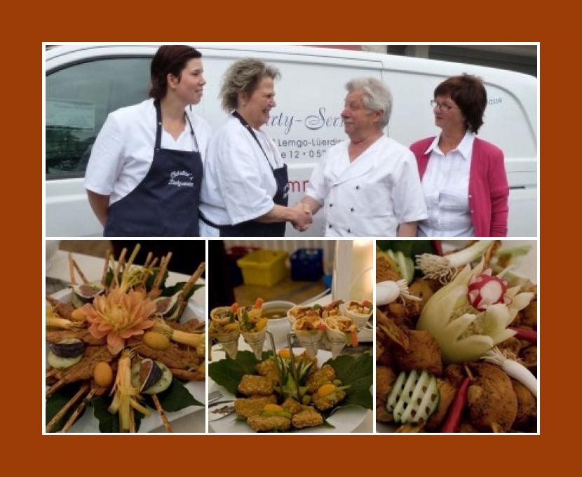 Partyservice Christines Lemgo Bad Salzuflen Herford Detmold Bielefeld Hochzeit Catering