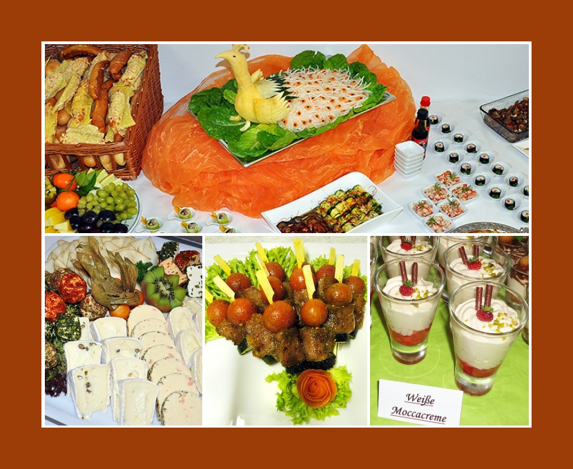 Partyservice Schweimer Marktredwitz Weiden in der Oberpfalz Kulmbach Bayreuth Hochzeit Catering