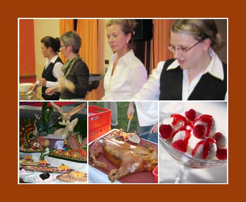 Partyservice van Scharrel Emden Aurich Leer Wilhelmshaven Hochzeit Catering