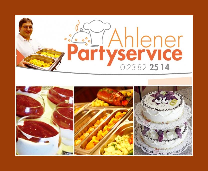 Ahlener Partyservice Ahlen Hamm Oelde Ennigerloh Beckum Hochzeit Catering
