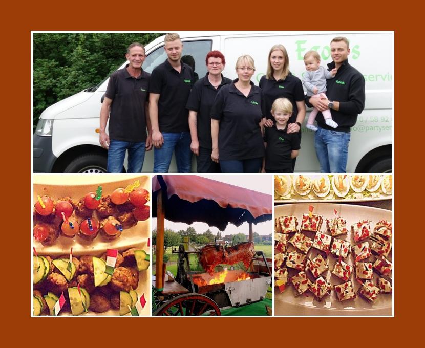 Egons Party- und Spanferkelservice Rahden Petershagen Osnabrück Herford Bielefeld Hochzeit Catering