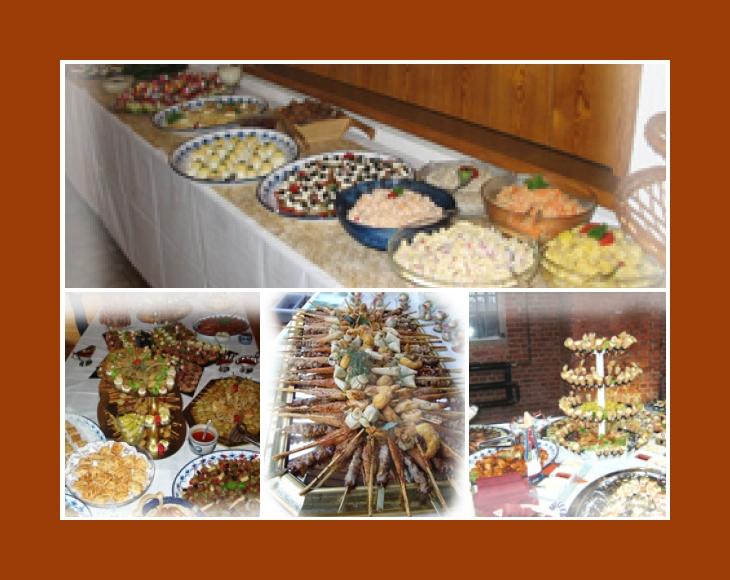 Partyservice von Andrea Dillingen Saarlouis Merzig Völklingen Lebach Hochzeit Catering