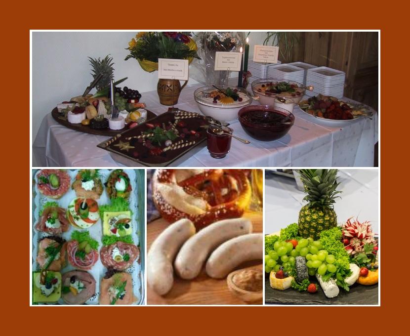 rent a cook & catering Adenbüttel Braunschweig Gifhorn Wolfsburg Hannover Hochzeit Catering