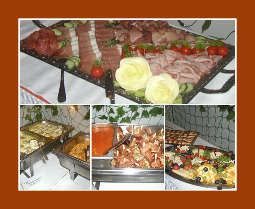 Partyservice von Michi Windheim Sonneberg Saalfeld Coburg Suhl Ilmenau Hochzeit Catering