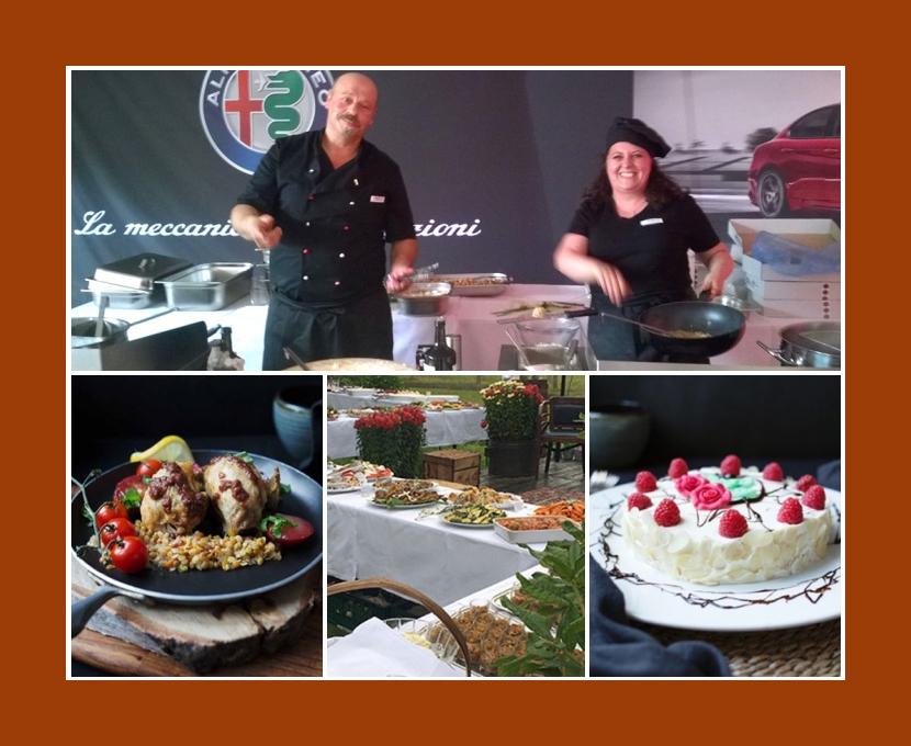 Catering Manufaktur Cucina italiana Hamburg Norderstedt Buxtehude Hochzeit Partyservice