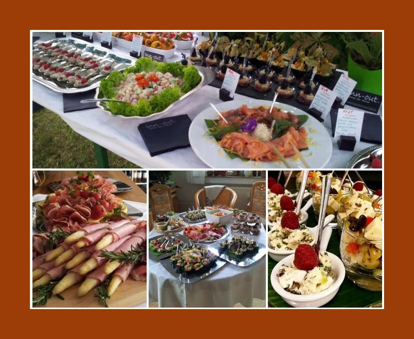 Inn-Out Catering Leipzig Taucha Markkleeberg Naunhof Schkeuditz Hochzeit Partyservice