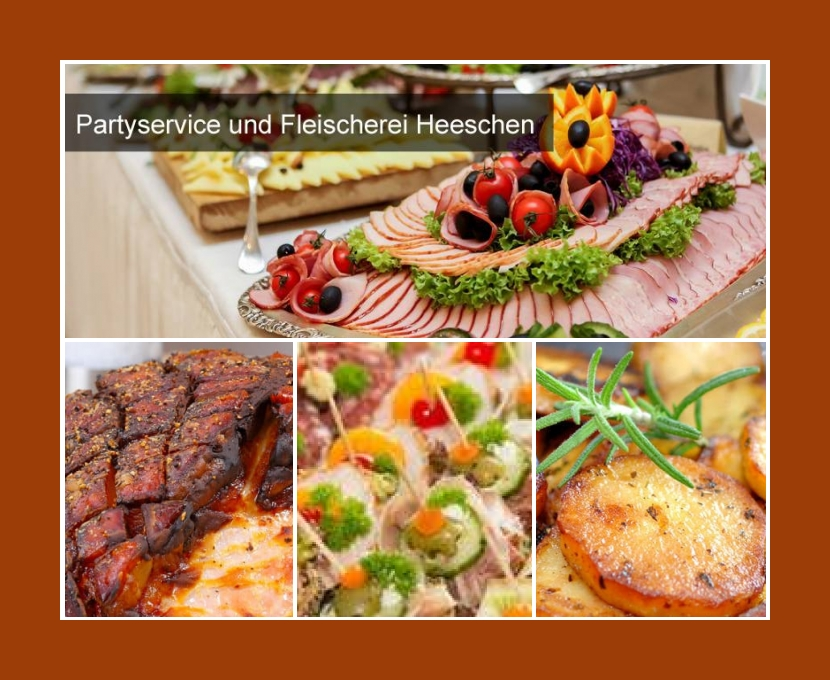 Partyservice und Fleischerei Heeschen Neumünster Kiel Rendsburg Bad Segeberg Aukrug Hochzeit Catering