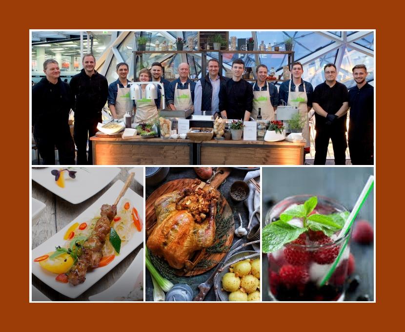 Lofthouse Catering Frankfurt Rhein-Main-Gebiet Mannheim Aschaffenburg Wiesbaden Hochzeit Partyservice