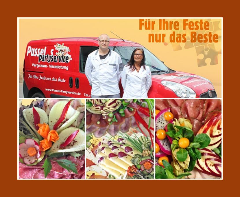 Pussels Partyservice Magdeburg Haldensleben Helmstedt Bernburg (Saale) Hochzeit Catering