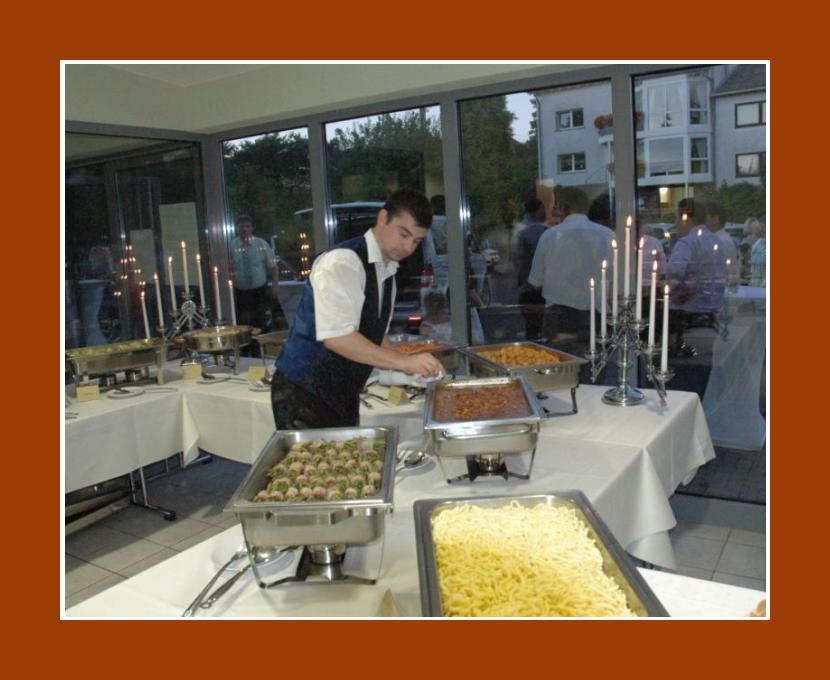 Partyservice Adolf Müller – Essen mit Freude Tholey Sankt Wendel Wadern Hochzeit Catering