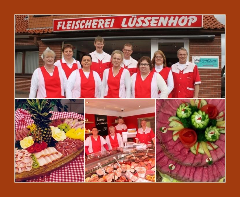 Lüssenhop Fleischerei  Party-Service  Buxtehude, Stade, Hamburg