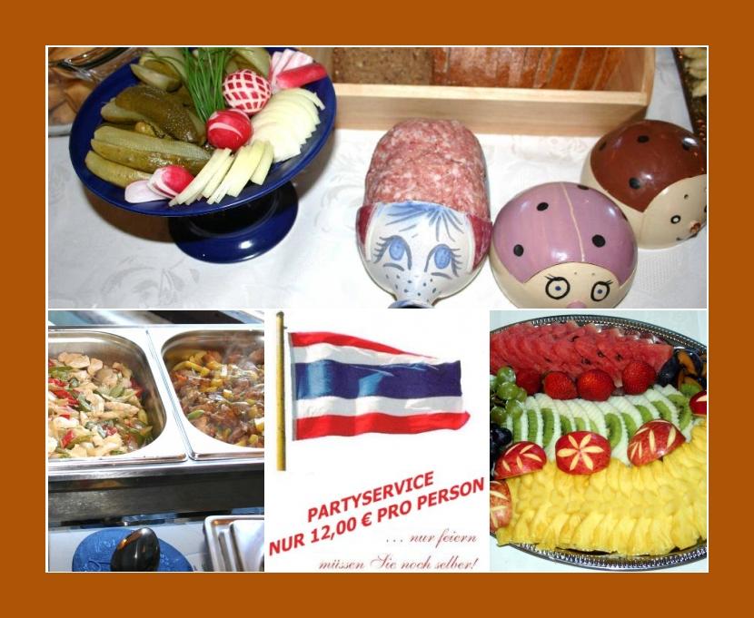 MALI´s-Thaiküche Partyservice  Heyerode, Hallungen, Mühlhausen